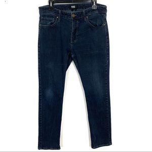 PAIGE Men's Federal Straight Jeans Dark Wash 33